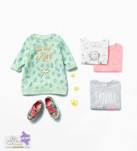 ست لباس نوزاد