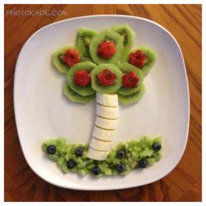 خانه تکونی بدن کودک با میوه