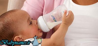 مزایا و معایب + انواع شیشه شیر نوزاد