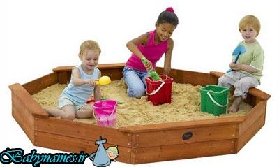 فواید گِل بازی جهت کودکان