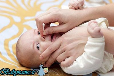 راههای درمان + گرفتگی بینی در نوزادان