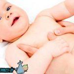 ماساژ پوست نوزاد با روغن گیاهی