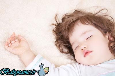 رایج ترین نشانه های خواب در نوزادان