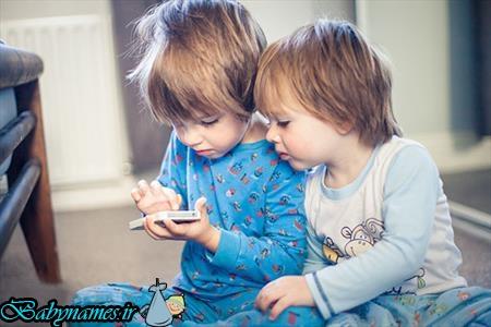 همه ضررهای موبایلی جهت فرزند ها