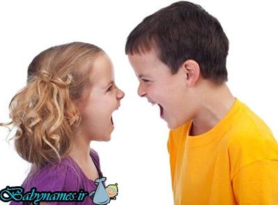 راه هایی جهت کنترل دعوای کودکان