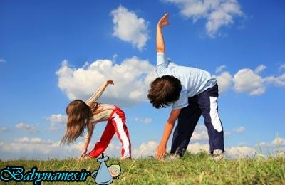 چطور کودکان را به ورزش علاقه مند کنیم؟