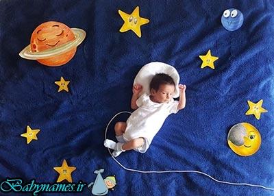 برای نوزادتان مادر خلاقی باشید!