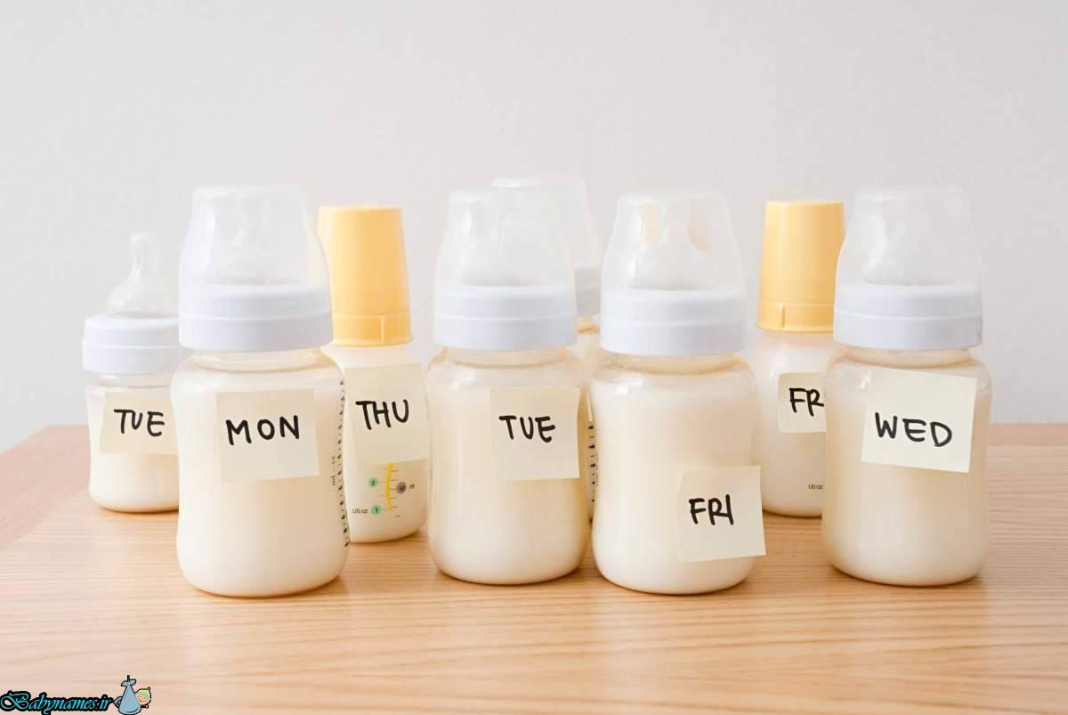 اهمیت تغذیه با شیر مادر جهت نوزاد