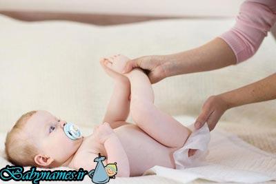 نکاتی راجع به تعویض پوشک نوزاد