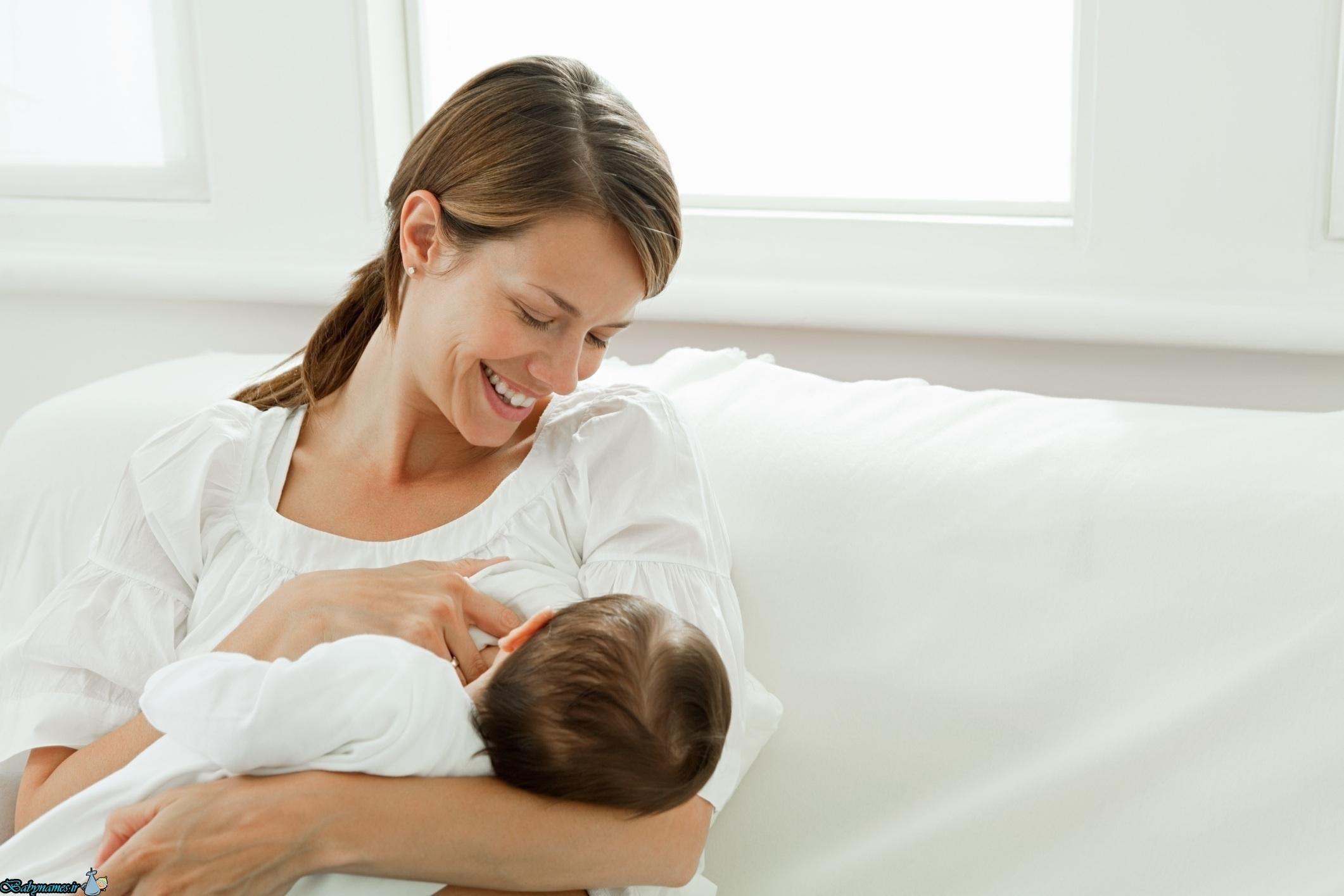 ویژگی های شیر مادر جهت شیرخوار